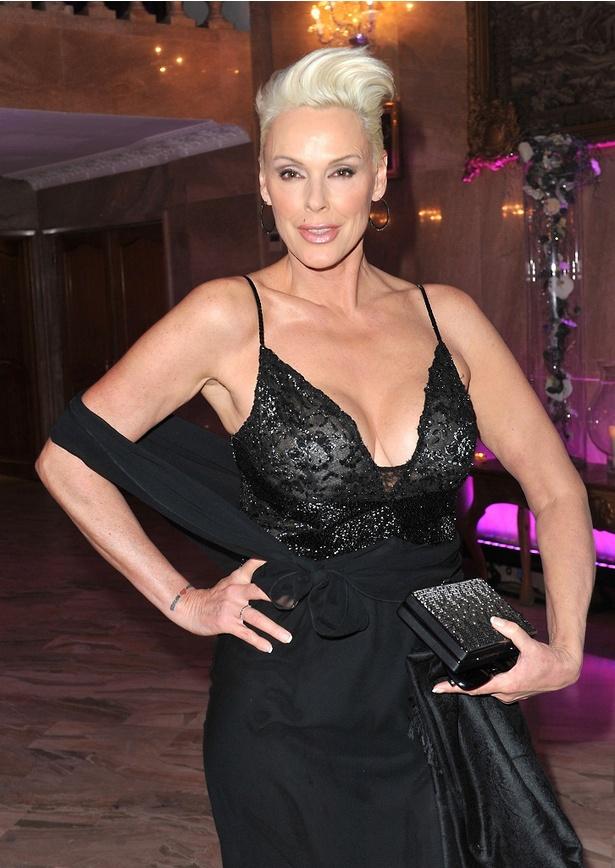 妊娠を発表した、女優のブリジット・ニールセン