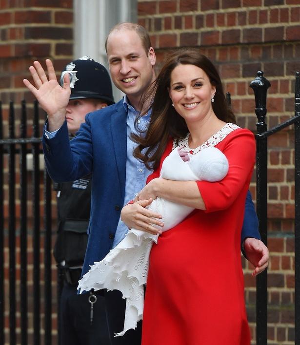 4月にルイ王子を出産したキャサリン妃