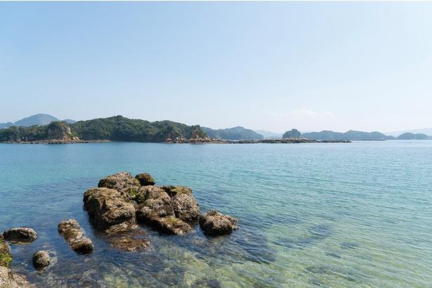 無人島からの景色