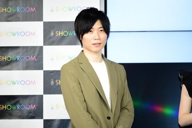 【写真を見る】同イベントに出席したSHOWROOMの前田社長。確かにいい人そう!