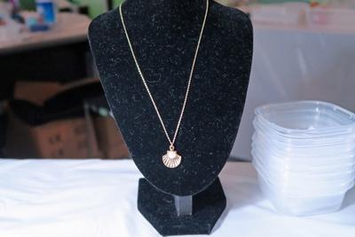 真珠の加工例