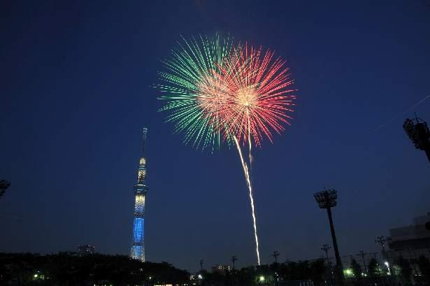 例年90万人を超える観衆が集まる隅田川花火大会