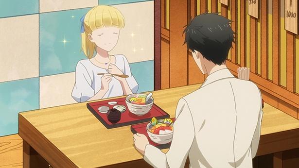 「多田くんは恋をしない」第10話の先行カットが到着。多田とテレサが「れいん坊将軍展」に!