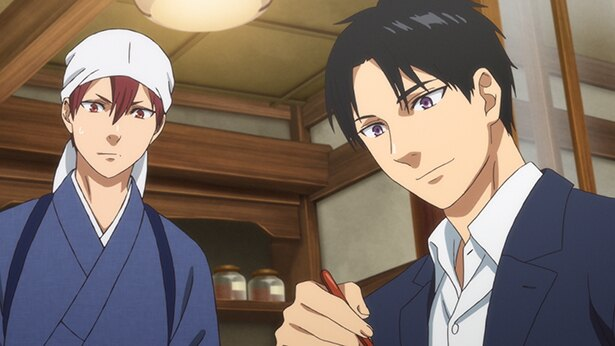 「鹿楓堂よついろ日和」第9話の先行カットが到着。彼女をどうやってお茶に誘う?