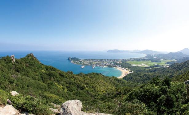 立石山 / 玄界灘の海岸線と山々の景観にうっとり