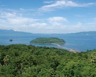 知林ヶ島 / 干潮時に歩いて渡れる風光明媚な島