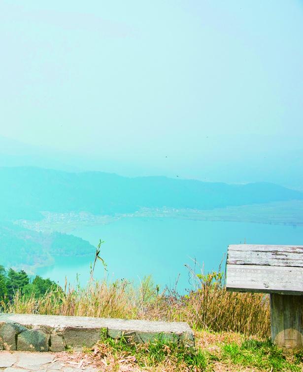 余呉湖と琵琶湖を山頂から眺めよう!