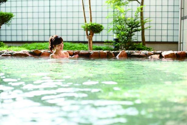 天然温泉で疲労回復しよう