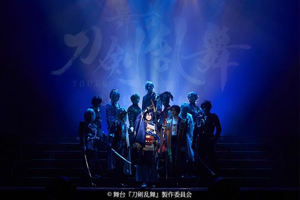舞台「刀剣乱舞」新作、明治座で魅せた刀剣男士の公演写真公開!