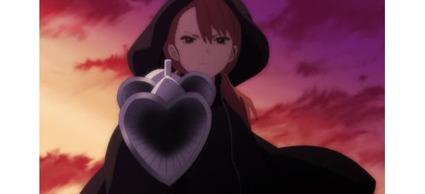 「魔法少女サイト」第10話の先行カットが到着。虹海の葬儀の日、再び彩が現れる!