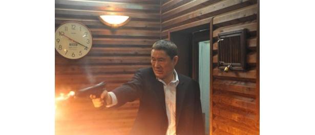 【写真】本作では俳優としても活躍する北野監督