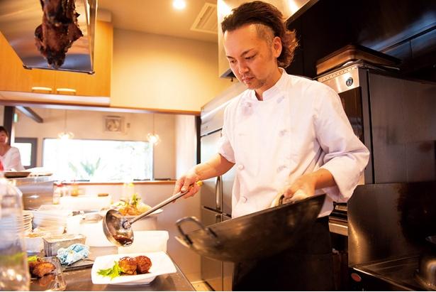名店で修業した中村氏自慢の中国料理を味わおう!ワインとも相性がいい
