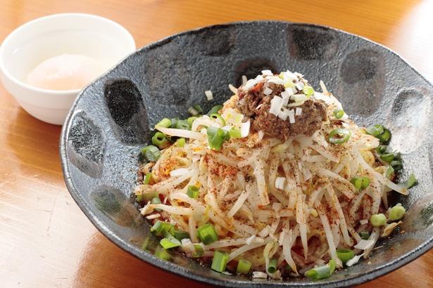 【写真を見る】「広島汁なし担担麺」(900円)