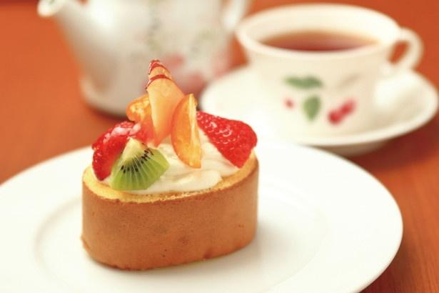 「ケーキ&カフェ プリエール」(愛知県小牧市)。小牧山の目の前にある絶品カフェでひと息つこう!