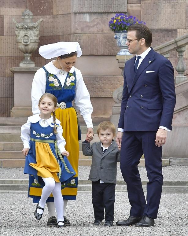 ヴィクトリア皇太子ご一家勢ぞろい!