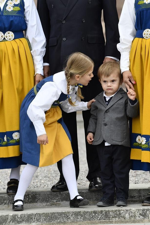 オスカル王子は緊張気味?