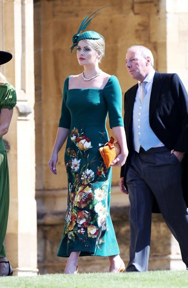 【写真を見る】メーガン妃の挙式で「すべてがダイアナ妃を彷彿させる」と称賛されたキティ・スペンサー