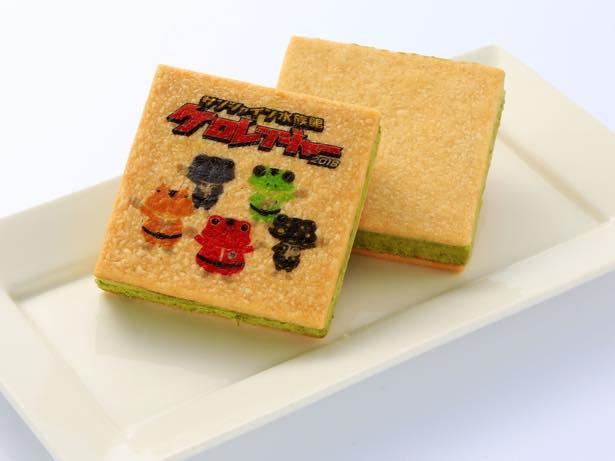 ケロレンジャーアイス(756円)