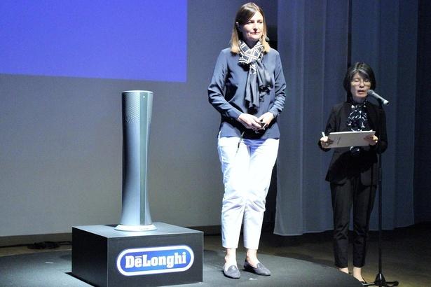 デロンギ本社 研究開発部門ディレクターのエンリカ モンティチェッリさん