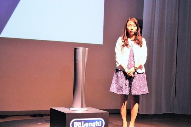 デロンギ・ジャパン株式会社 プロダクトマネージャーの西岡祐子さん