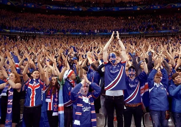 各国の応援風景も魅力。氷の国アイスランドの熱い応援は一見の価値アリ