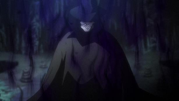 """「ゲゲゲの鬼太郎」第11話の先行カットが到着。シリーズ初の前後編!謎の仮面の男""""名無し""""登場!!"""