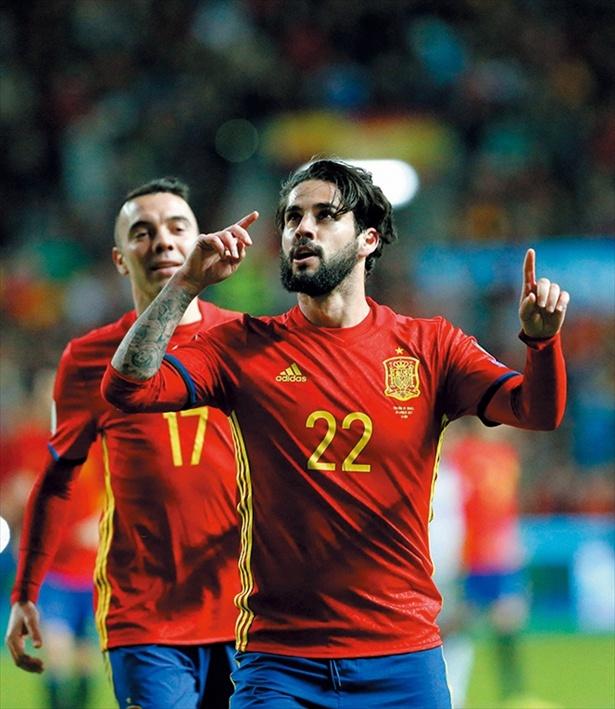 タレントがそろうスペインでも優勝はイスコの活躍が必須