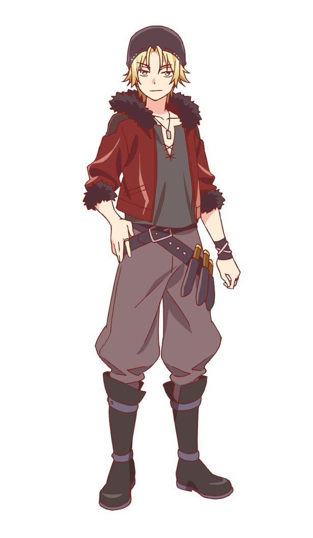 寺島拓篤演じるクライヴ=ヴィヴァリー。スバルの後衛。幼なじみで唯一の国外ログイン組。とらえどころのない自由奔放な性格