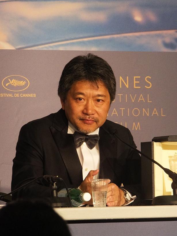 『万引き家族』でパルムドールを受賞した是枝裕和監督