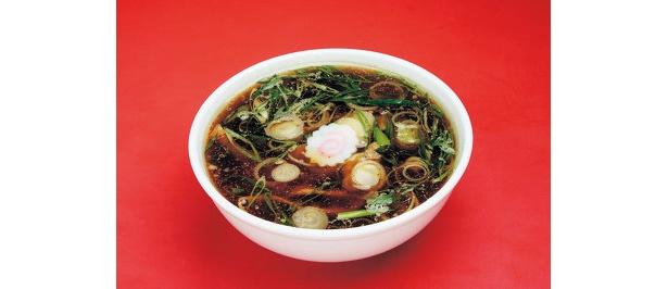 つけそばのスープは、豚・鶏・魚を使ったトリプルスープ