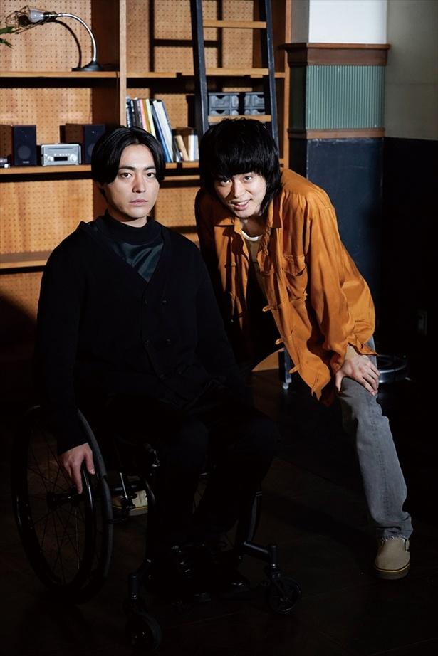 「dele」山田はプログラマー・圭司、菅田は何でも屋・祐太郎を演じる