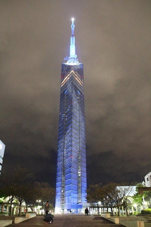 タワーならではの壮大な天の川が壁面に輝く THE STAR FESTIVAL~星に近い福岡タワーの七夕まつり~ / 6月15日(金)~7月7日(土)