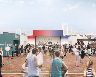 2018 FIFAワールドカップ ロシア大会開幕を記念して「ODAIBA FOOTBALLFANZONE 2018」がオープン(画像はイメージ)