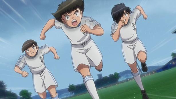 「キャプテン翼」第11話の先行カットが到着。準決勝で相手の島田小が先制!?