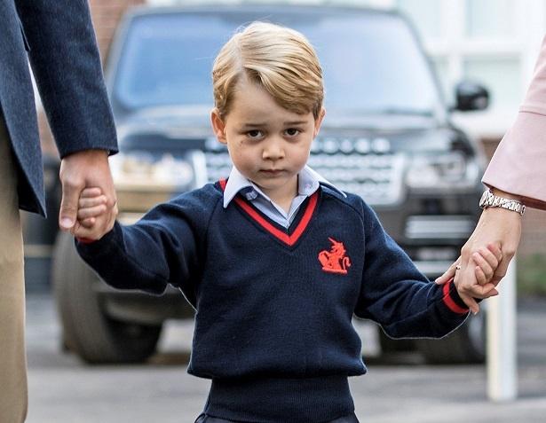 従姉の剣幕に、ジョージ王子も驚き!?