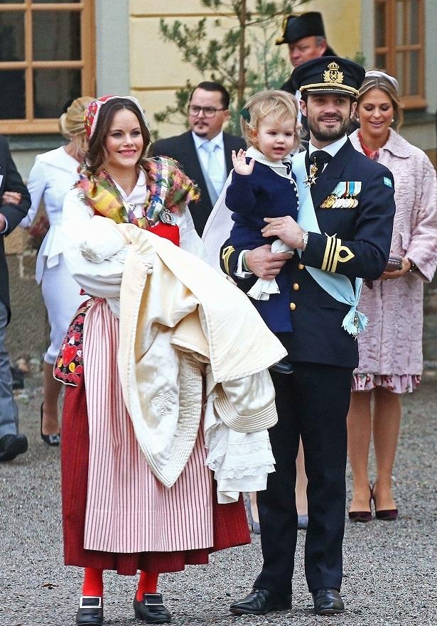 昨年はカール・フィリップ王子の第2子、ガブリエル王子が