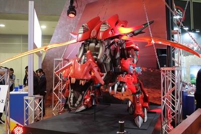 「ギルラプター」の巨大展示