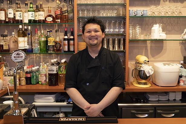 調理の専門学校で長年講師を務めていた、料理長兼オーナーの加藤達也さん