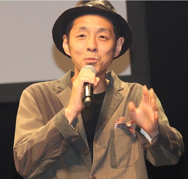 完成披露イベントに登壇した宮藤官九郎