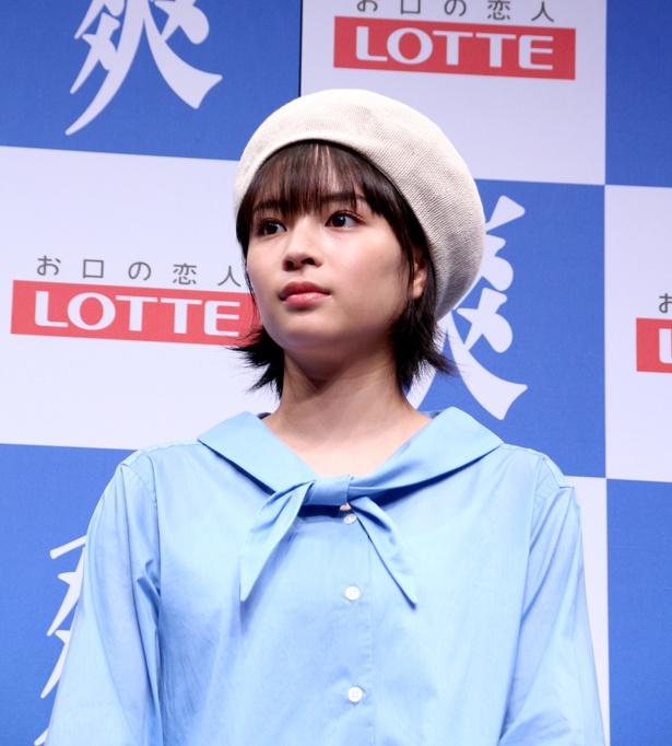 ロッテ「爽ハッピースプーン」完成披露発表会より