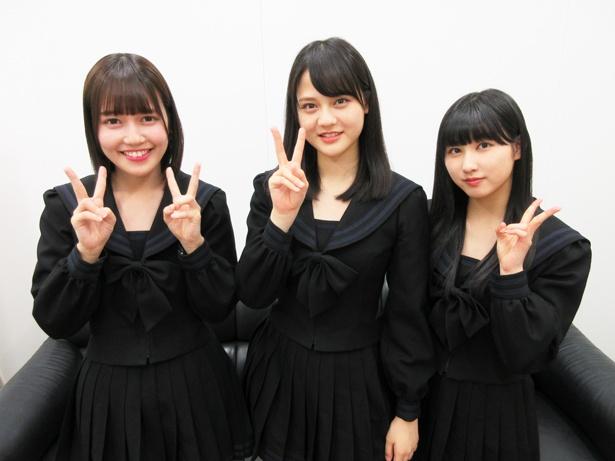 【画像を見る】左から「=LOVE」の諸橋沙夏・髙松瞳・山本杏奈