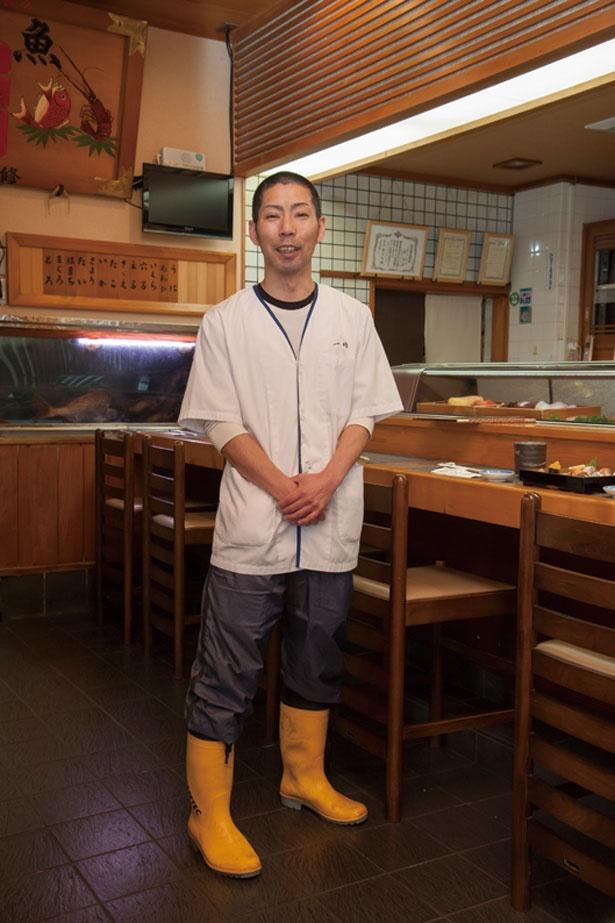 【写真を見る】先代の叔父さんから店を引き継いだ、森 茂幸さん。