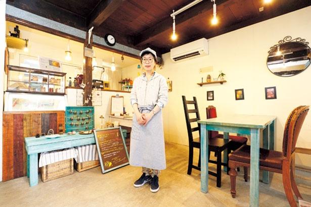 「18年6月には同エリアにカフェをオープンする予定なので、そちらもよろしくお願いします」と店主の藤原紗央里さん