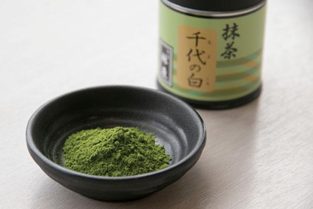 高品質な宇治抹茶を安定して使用/京はやしや 京都三条店