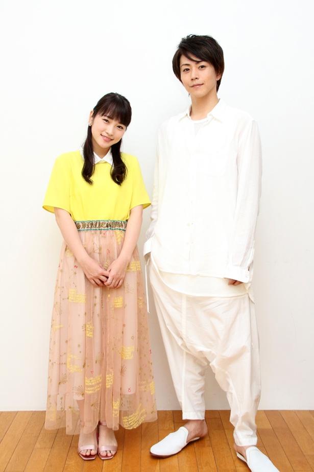 舞台「カレフォン」でW主演を務める川栄李奈と廣瀬智紀