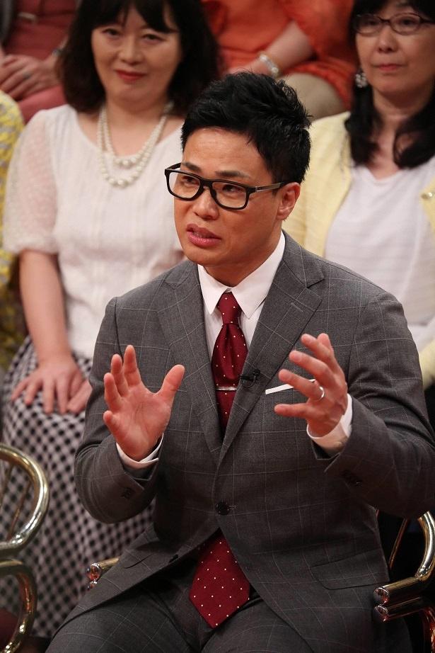 6月13日(水)放送の「梅沢富美男のズバッと聞きます!」に清水宏保が登場