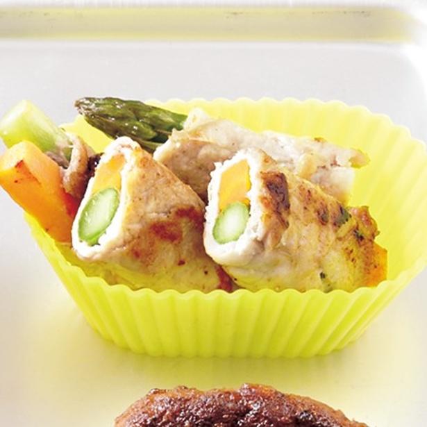 【画像を見る】冷凍で約1カ月間保存可能!「肉野菜巻き」