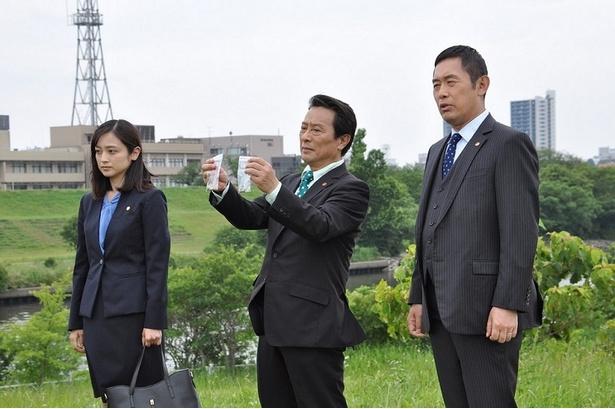 捜査一課メンバーとして出演する内藤剛志、金田明夫、安達祐実(写真右から)