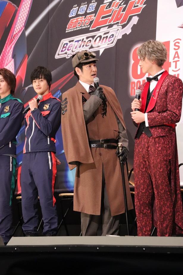 目標とする俳優が自分でなく、がっかりする田中