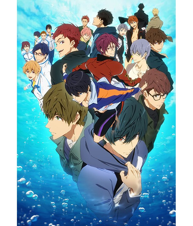 TVアニメ「Free!-Dive to the Future-」のメインビジュアル&追加キャストが公開!